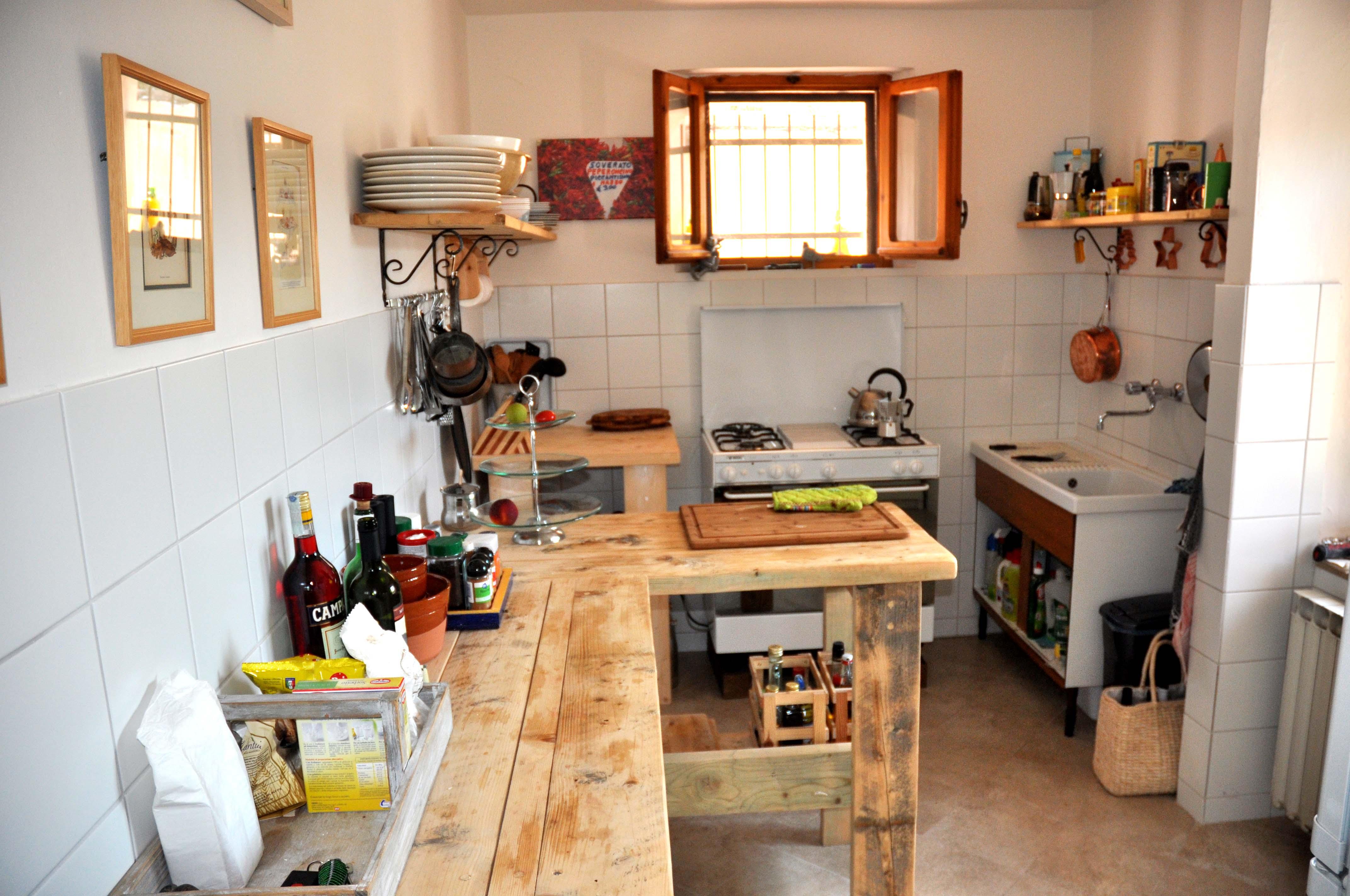 Vakantiehuis pergola het huis vakantiehuis pergola - Ingerichte keuken ...