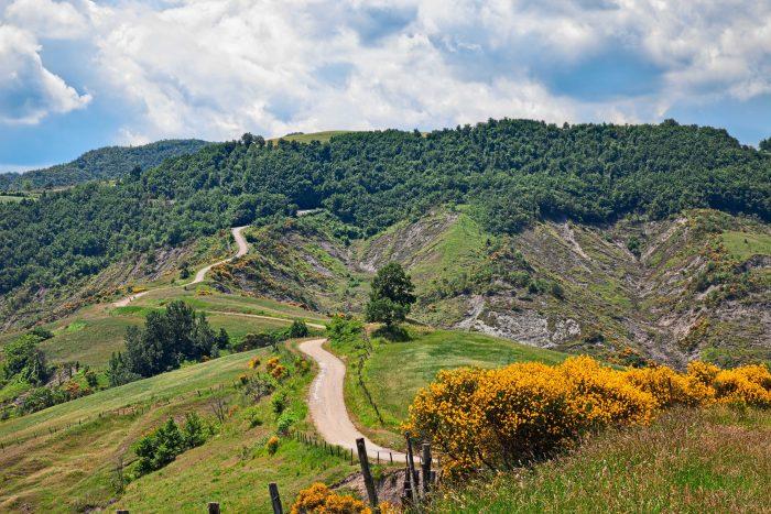 De Apennijnen heeft een prachtige natuur.